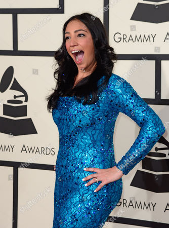 Stock Photo of Leslie Cartaya Arrives For the 57th Annual Grammy Awards Held at the Staples Center in Los Angeles California Usa 08 February 2015 United States Los Angeles