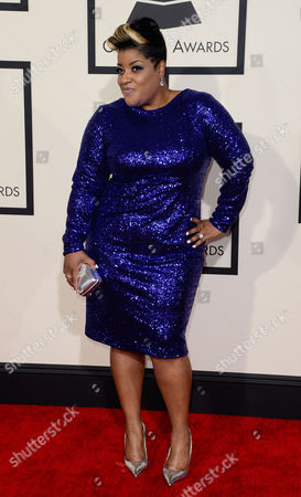 Gospel Singer Anita Wilson Arrives For the 57th Annual Grammy Awards Held at the Staples Center in Los Angeles California Usa 08 February 2015 United States Los Angeles