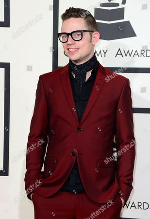 Stock Image of Jarle Bernhoft Arrives For the 57th Annual Grammy Awards Held at the Staples Center in Los Angeles California Usa 08 February 2015 United States Los Angeles