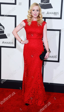 Isabel Adrian Angello Arrives For the 57th Annual Grammy Awards Held at the Staples Center in Los Angeles California Usa 08 February 2015 United States Los Angeles