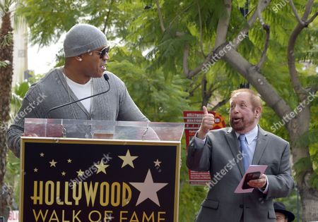 Us Singer Ll Cool J (l) Introduces Us Television Producer Ken Ehrlich (r) During Ehrlich's Star Ceremony on the Hollywood Walk of Fame in Hollywood California Usa 28 January 2015 Ehrlich was Awarded the 2 541st Star on the Hollywood Walk of Fame in the Category of Television Epa/paul Buck United States Hollywood