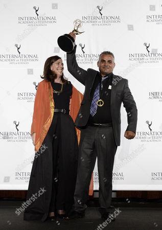 Editorial photo of Usa International Emmys - Nov 2013
