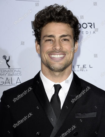 Brazilian Actor Caua Reymond Arrives For the 41st International Emmy Awards Gala at a Hotel in New York New York Usa 25 November 2013 United States New York