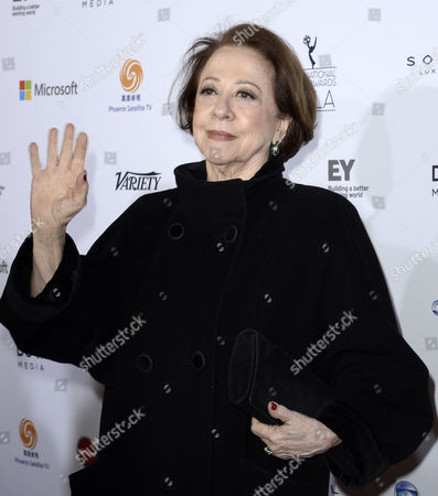 Brazilian Actress Fernanda Montenegro Nominated in the 'Best Performance by an Actress' Category For the 'Sweet Mother' Arrives For the 41st International Emmy Awards Gala at a Hotel in New York New York Usa 25 November 2013 United States New York