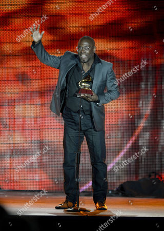 Brazilian Singer Kleber Lucas Holds His Award Onstage For Best Christian Album (portuguese Language) During the 14th Annual Latin Grammy Awards Ceremony at the Mandalay Bay Resort and Casino in Las Vegas Nevada Usa 21 November 2013 United States Las Vegas