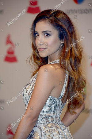 Dulce Candy at the 15th Annual Latin Grammy Awards at the Mgm Grand in Las Vegas Nevada Usa 20 November 2014 Latin Grammy Awards Recognize Artistic And/or Technical Achievement not Sales Figures Or Chart Positions and the Winners Are Determined by the Votes of Their Peers-the Qualified Voting Members of the Academy United States Las Vegas