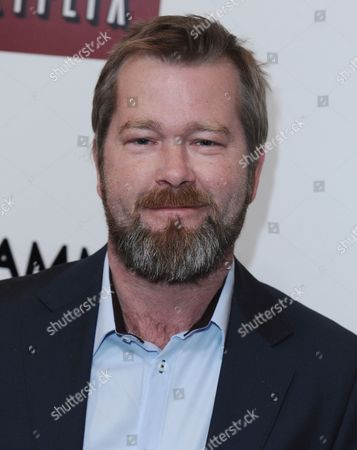 Stock Picture of Norwegian Actor Fridtjov Saheim Attends the Red Carpet Screening of the Season Two Tv Series 'Lilyhammer' in New York Usa 19 November 2013 United States New York