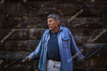 Stock Picture of An Image Made Available on 01 November 2013 Shows Us Author and Screenwriter of 'The Exorcist ' William Peter Blatty on the So-called 'Exorcist Steps' in the Georgetown Neighborhood of Washington Dc Usa 29 October 2013 to Celebrate the 40th Anniversary of the Film Warner Bros is Re-releasing the Movie For One Week at the Amc Georgetown Movie Theatre United States Washington
