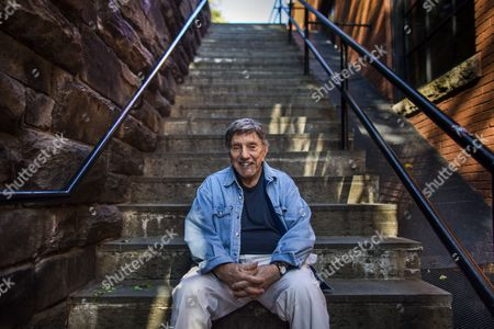 An Image Made Available on 01 November 2013 Shows Us Author and Screenwriter of 'The Exorcist ' William Peter Blatty on the So-called 'Exorcist Steps' in the Georgetown Neighborhood of Washington Dc Usa 29 October 2013 to Celebrate the 40th Anniversary of the Film Warner Bros is Re-releasing the Movie For One Week at the Amc Georgetown Movie Theatre United States Washington