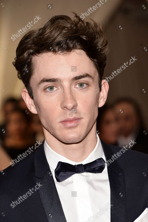 Matthew Beard Arrives For the 2015 Anna Wintour Costume Center Gala Held at the New York Metropolitan Museum of Art in New York New York Usa 04 May 2015 the Costume Institute Will Present the Exhibition 'China: Through the Looking Glass' at the Metropolitan Museum of Art From 07 May to 16 August 2015 United States New York