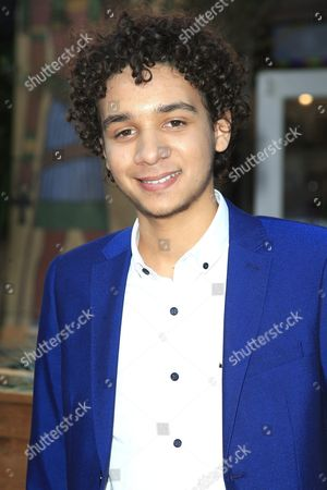 Us Actor/cast Member Dejon Laquake Arrives For the Los Angeles Premiere of Warner Bros' Pictures and Metro-goldwyn-mayer Pictures 'Max' at the Egyptian Theatre in Hollywood Los Angeles California Usa 23 June 2015 the Movie Opens in the Usa on 26 June 2015 United States Los Angeles