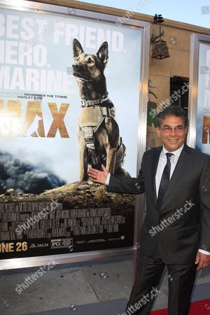 Stock Photo of Us Writer Sheldon Lettich Arrives For the Los Angeles Premiere of Warner Bros' Pictures and Metro-goldwyn-mayer Pictures 'Max' at the Egyptian Theatre in Hollywood Los Angeles California Usa 23 June 2015 the Movie Opens in the Usa on 26 June 2015 United States Los Angeles