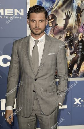 Mexican Actor Adan Canto Arrives For the 'X-men: Days of Future Past' World Premiere at Jacob Javits Center in New York New York Usa 10 May 2014 United States New York