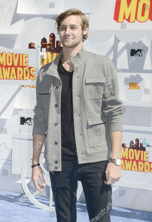 Stock Photo of Actor Caleb Ruminer Arrives For the 2015 Mtv Movie Awards at the Nokia Theatre in Los Angeles California Usa 12 April 2015 the Movies Are Nominated by Producers and Executives From Mtv and the Winners Are Chosen On-line by the General Public United States Los Angeles