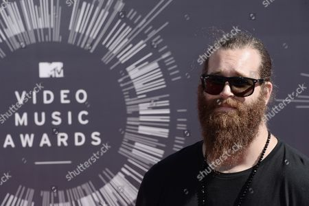 Stock Photo of Canadian Internet Personality Harley Morenstein Arrives on the Red Carpet For the 31st Mtv Video Music Awards at the Forum in Inglewood California Usa 24 August 2014 United States Inglewood