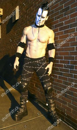 Former Misfits Member Doyle Wolfgang Von Frankenstein of the Us Band Doyle Poses For a Picture at Vogue Theater in Indianapolis Indiana 24 March 2015 United States Indianapolis