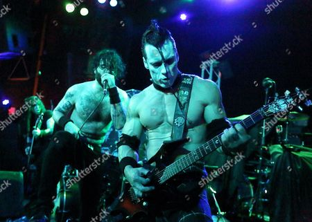 Former Misfits Member Doyle Wolfgang Von Frankenstein of Us Band Doyle Performs on Stage During Their Concert at Vogue Theater in Indianapolis Indiana 24 March 2015 Epa/steve C Mitchell United States Indianapolis