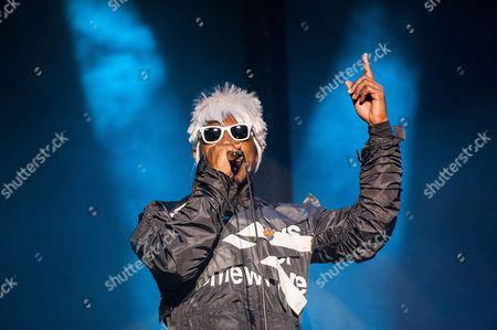 Andre 'Andre 3000' Benjamin of the Us Hip Hop Duo Outkast Performs at the 2014 Austin City Limits Music Festival at Zilker Park in Austin Texas Usa 10 October 2014 United States Austin