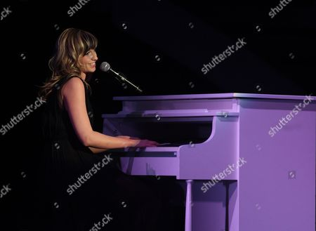 Stock Picture of Cami Bradley Performs on Stage During the America's Got Talent Tour at the Murat Theater in Indianapolis Indiana Usa 03 November 2013 United States Indianapolis