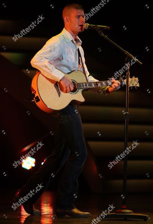 Jimmy Rose Performs on Stage During the America's Got Talent Tour at the Murat Theater in Indianapolis Indiana 03 November 2013 United States Indianapolis