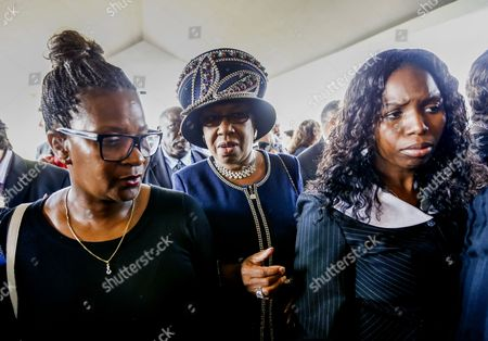 Stock Image of Relatives of Blues Legend B B King Arrive For Funeral Services For King at Bell Grove Missionary Baptist Church in Indianola Mississippi Usa 30 May 2015 King Died 14 May While in Home Hospice Care in His Home in Las Vegas Nevada Usa and Will Be Buried in Indianola on 30 May United States Indianola