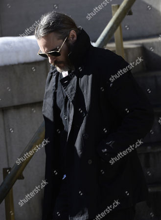 Us Actor Joaquin Phoenix Leaves the Funeral Mass For Us Actor Phillip Seymour Hoffan at St Ignatius Church in New York New York Usa 07 February 2014 Hoffman 46 Died 02 February From a Suspected Drug Overdose United States New York