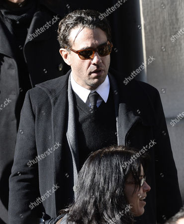Us Actor Bobby Cannavale Leaves Funeral Mass of Us Actor Phillip Seymour Hoffman at St Ignatius Church in New York New York Usa 07 February 2014 Hoffman 46 Died 02 February From a Suspected Drug Overdose United States New York