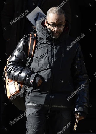 Us Director Spike Lee Leaves the Funeral Mass For Us Actor Phillip Seymour Hoffman at St Ignatius Church in New York New York Usa 07 February 2014 Hoffman 46 Died 02 February From a Suspected Drug Overdose United States New York