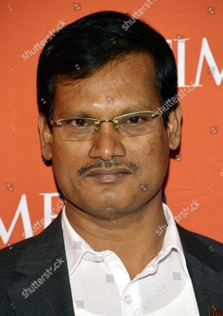 Indian Social Entrepreneur Arunachalam Muruganantham Arrives For the Annual Time 100 Gala at Federick P Rose Hall in New York New York Usa 29 April 2014 the Annual Event Celebrates the Magazine's Yearly Issue That Names 100 Highly Influential People From Various Disciplines United States New York