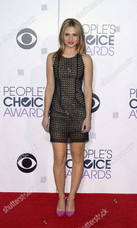 Us Actress Rita Volk Arrives For the 41st People's Choice Awards in Los Angeles California Usa 07 January 2015 United States Los Angeles