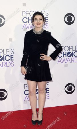 Us Actress Kathrine Herzer Arrives For the 41st People's Choice Awards in Los Angeles California Usa 07 January 2015 United States Los Angeles