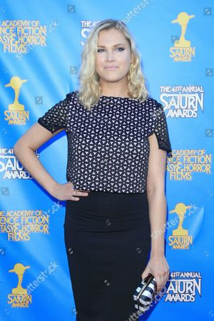 Us Actress Eliza Taylor Poses at the 41st Annual Saturn Awards at the Castaway in Burbank California Usa 25 June 2015 the Award is Presented by the Academy of Science Fiction Fantasy and Horror Films Since 1972 United States Burbank