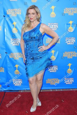 Stock Photo of Us Actress Chase Masterson Poses at the 41st Annual Saturn Awards at the Castaway in Burbank California Usa 25 June 2015 the Award is Presented by the Academy of Science Fiction Fantasy and Horror Films Since 1972 United States Burbank