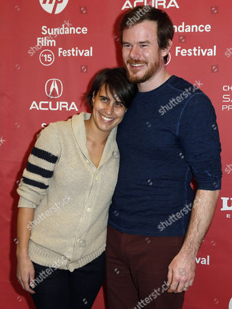 Us Director Joe Swanberg and His Wife Kris Swanberg (l) Arrive For the Premiere of 'Digging For Fire' at the 2015 Sundance Film Festival in Park City Utah Usa 26 January 2015 the Festival Runs From 22 January to 01 February 2015 United States Park City