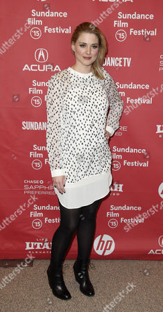 Us Actress Alex Breckenridge Arrives For the Premier of 'Zipper' at the 2015 Sundance Film Festival in Park City Utah Usa 27 January 2015 the Festival Runs From 22 January to 01 February 2015 United States Park City