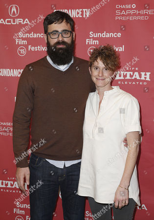 Stock Picture of Us Director Jared Hess (l) and His Wife Us Writer Jerusha Hess (r) Arrive For the Premiere of 'Don Verdea' at the 2015 Sundance Film Festival in Park City Utah Usa 28 January 2015 the Festival Runs From 22 January to 01 February 2015 United States Park City