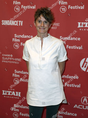 Stock Image of Us Writer Jerusha Hess Arrives For the Premiere of 'Don Verdean' at the 2015 Sundance Film Festival in Park City Utah Usa 28 January 2015 the Festival Runs From 22 January to 1 February 2015 United States Park City