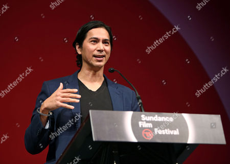 Actor Kalani Queypo Accepts the World Cinema Dramatic Grand Jury Prize on Behalf of John Maclean Director of 'Slow West ' at the 2015 Sundance Film Festival Awards Night in Park City Utah Usa 31 January 2015 the Festival Runs From 22 January to 01 February 2015 United States Park City