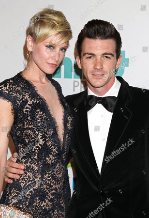Us Actor Drake Bell (r) and Girlfirend Us Actress Paydin Lopachin (l) Arrive For the 5th Annual Thirst Gala at the Beverly Hilton Hotel in Beverly Hills California Usa 24 June 2014 the Thirst Gala Honors Those who Have Made a Difference in Fighting the World Water Crisis United States Los Angeles