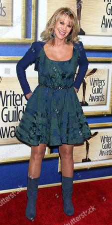 Us Producer Joan Dangerfield Arrives For the Writers Guild of America Awards Ceremony at the Hyatt Regency Century Plaza in Los Angeles California Usa 14 February 2015 United States Los Angeles