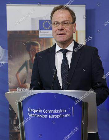 Editorial image of Belgium Eu Commission Expo 2015 - Apr 2015