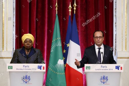 Editorial image of France Africa Diplomacy - Oct 2014