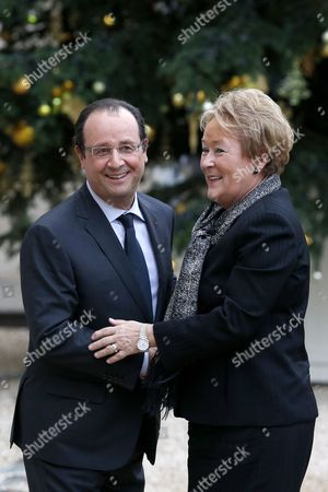 Editorial photo of France Canada Quebec Diplomacy - Dec 2013