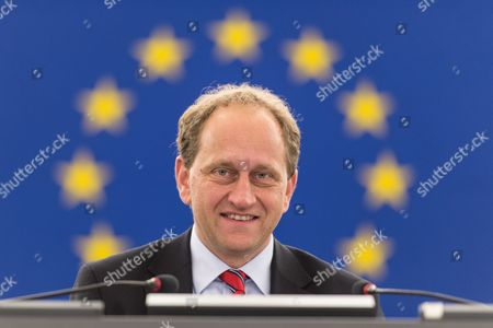 Vice-president Alexander Graf Lambsdorff From Germany of the Group of the Alliance of Liberals and Democrats For Europe at the European Parliament in Strasbourg France 26 November 2014 France Strasbourg
