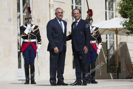 Editorial photo of France Lebanon Diplomacy - Jun 2014