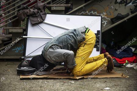 Editorial image of France Paris International Refugee Day 2015 - Jun 2015