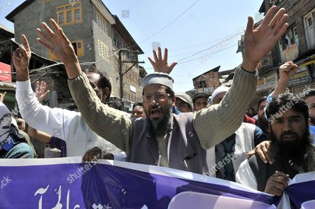 Editorial image of India Kashmir Protest - Mar 2015