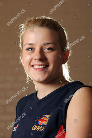 Stock Image of Josie Pearson, the only female player in the GB wheelchair rugby team