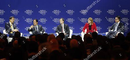 Editorial picture of Indonesia World Economic Forum - Apr 2015