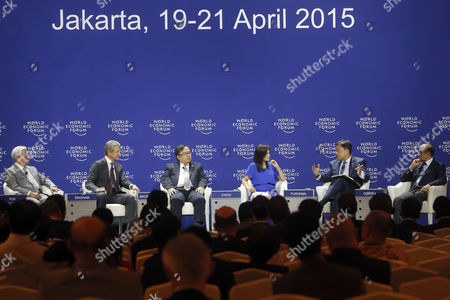 Editorial picture of Indonesia World Economic Forum - Apr 2015
